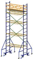 Вышка передвижная 2х0.7м, высота 6.3м
