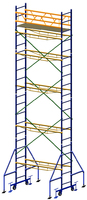 Вышка передвижная, высота 8,3м, размер площадки 2х0,7м.